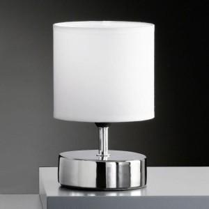 lampe de chevet chromé